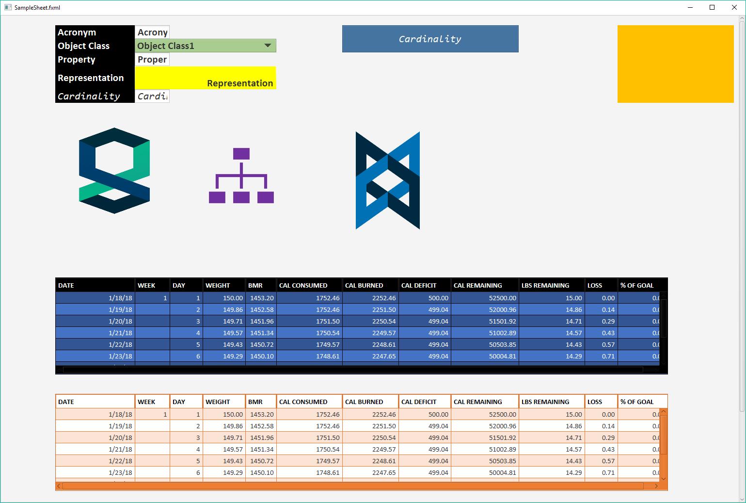 Excel Spreadsheet to (Javafx, Html5, Xaml) UI Layout Generator